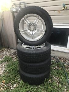 Dodge Winter tires with alloy rims