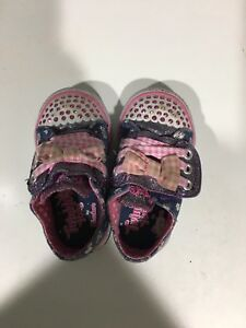 Twinkle Toes Lite Up Toddler Shoes Size 5