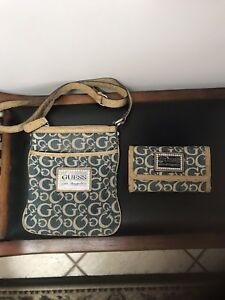 Matching Guess wallet and bag