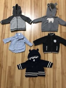 Fall/Winter Baby Boy Clothing 3-6 months