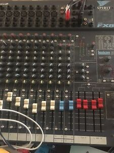 Spirit FX8 by sound craft mixer Miami Gold Coast South Preview