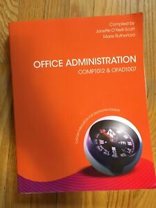 Office Administration COMP1012 OFAD1007