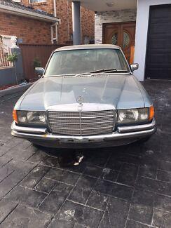 Mercedes benz 280 se 1978