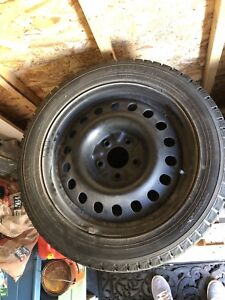 4  Rims and Ice Guard Winter Tires 225/50/R17