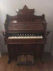 Harmonium fonctionnel 1900 antiquité