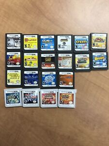 Nintendo 3ds and ds with 55 games