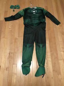 Green Lantern Child Costume Size Medium Child Ages 8-10