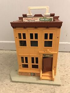 Fisher Price Sesame Street Play House #938 Vintage