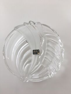 "Mikasa - 7"" glass plate - new in box"