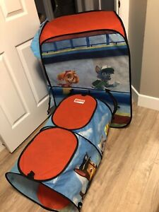 Paw patrol play tent and tunnel