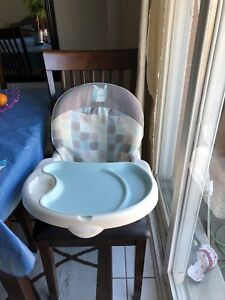 Safety first Space saver high chair