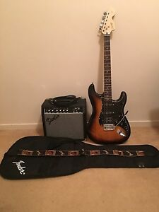 Fender Affinity HSS Strat Pack Eight Mile Plains Brisbane South West Preview