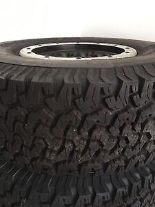 For sale 2014 Raptor wheels and tires