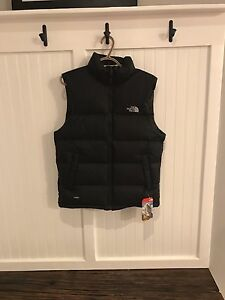 Black North Face Nuptse Vest