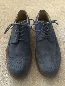 Polo Ralph Lauren blue suede shoes size 11
