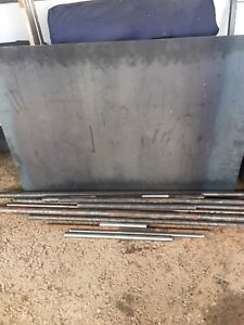 Misc DOM Tubing and 16 gauge sheet metal
