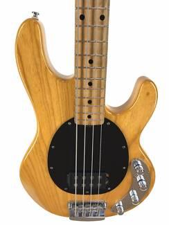 Music Man, Sterling, Ray 34 Bass, Natural
