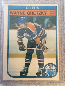 Wayne Gretzky 3rd year Card