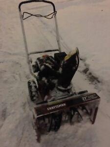 Souffleuse à neige / Snow blower