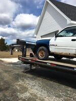 You want it transported-I have the truck & trailer