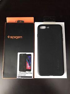 Spigen IPhone 7 plus/ 8 plus phone case black