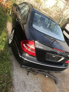 2006 Mercedes Benz E55 AMG for scrap/parts full car