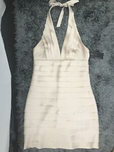 BNWT BCBG halter cocktail dress
