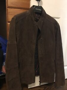 New men's Denier suade jacket