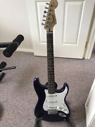 Fender guitar, amp and stand. Werrington County Penrith Area Preview