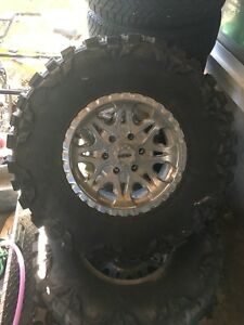 Rims and tires $600.00