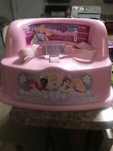 Princess booster chair for dinning