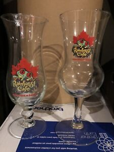 Rainforest cafe drinking glasses