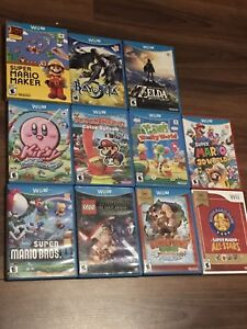 Nintendo Wii U and various Games for sale