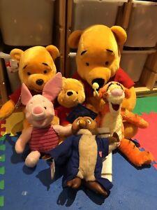Winnie the Pooh stuff toys
