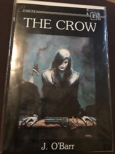 The Crow comic #2 First Printing by Caliber