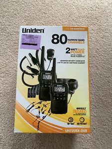 UNIDEN UH720sx HANDHELD HAND HELD UHF CB RADIO 80 CHANNEL 2 WATT NEW Perth Perth City Area Preview