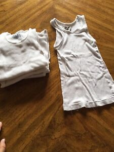 Boys undershirts size 4-6