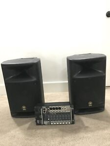 Yamaha Stagepas 500 PA System