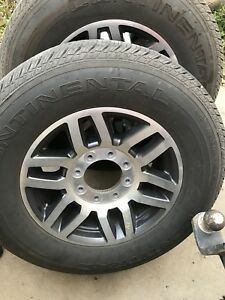 2018 F350 rims and tires
