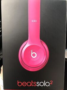 Beats Solo 2 - Pink - Never Worn