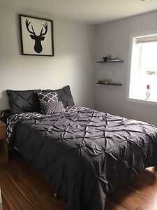 5 Piece King Comforter Set - Brand New/Smoke Free