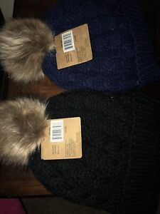 Winter knitted cap or toque