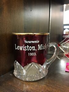 Lewiston 1903 Cranberry Glass