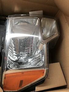2009-2014 Ford F-150 headlight and tail lights