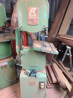 Two wood Bandsaw's for parts