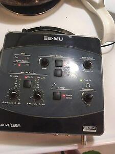 E-mu 0404 usb 150 $