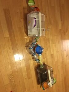 Hamster/Gerbil cage and accessories