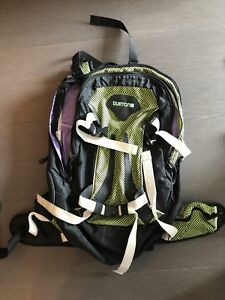 Backpacks Burton and MEC