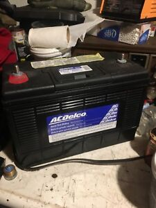 Ac delco battery Baught new but never used