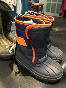 Two pairs Boys size 8 winter boots